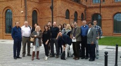 Ben Polley & Canadian delegates at green industries trade mission