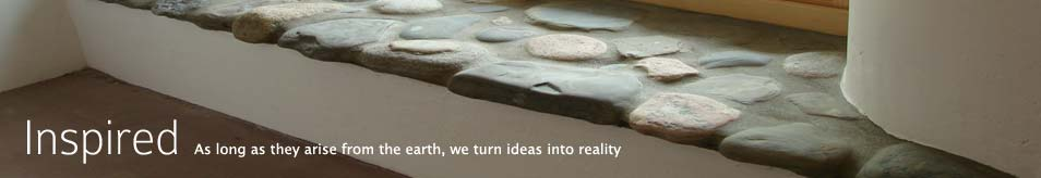 Inspired - As long as they arise from the earth, we turn ideas into reality